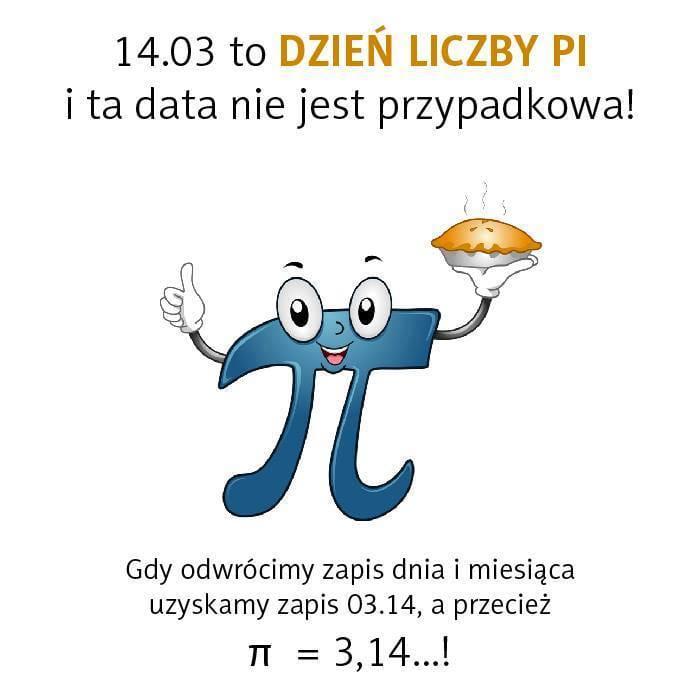 Międzynarodowy dzień liczby PI  i KONKURS!